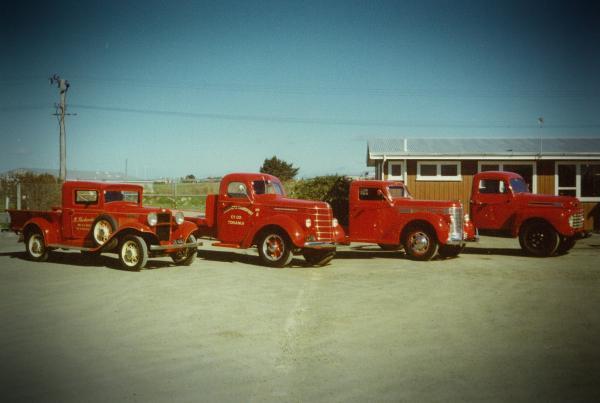 Bill Richardson Transport World Invercargill truck museum family things to do Invercargill Invercargill car museum classic truck vintage truck
